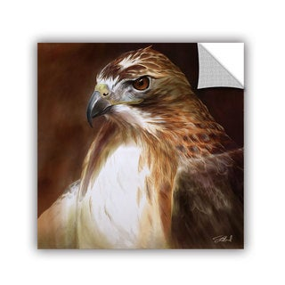 ArtAppealz Steve Goad 'Red-Tailed Hawk' Removable Wall Art