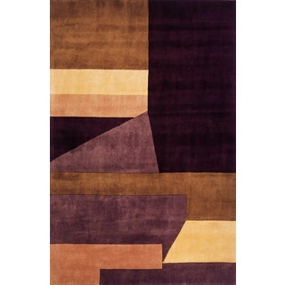 Ashton Multi Hand-Tufted Wool Rug (9'6 x 13'6)