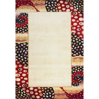 West Indies Multi Hand-tufted Wool Rug (9'6 x 13'6)