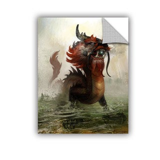 ArtAppealz Steve Goad 'Vietnamese Dragon' Removable Wall Art