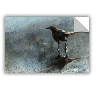 ArtAppealz Steve Goad 'Bird In A Puddle' Removable Wall Art