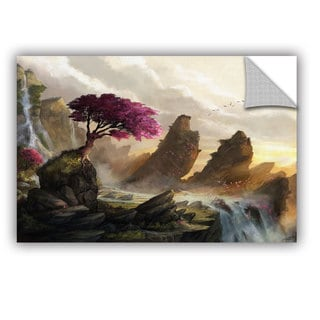 ArtAppealz Steve Goad 'Blossom Sunset' Removable Wall Art