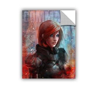 ArtAppealz Steve Goad 'Call Me Commander' Removable Wall Art