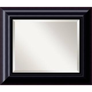 Dark Chestnut Wall Mirror - Medium 27 x 23-inch