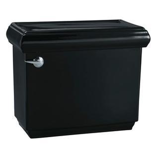 Kohler Memoirs Classic 1.6 GPF Toilet Tank Only with AquaPiston Flush Technology in Black Black