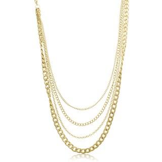 Adoriana Dainty Strand Necklace - Green
