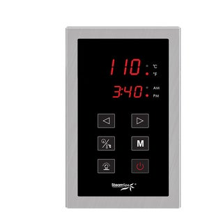Touch Panel Control System in Brushed Nickel