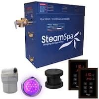SteamSpa Royal 9 KW QuickStart Steam Bath Generator Package in Oil Rubbed Bronze