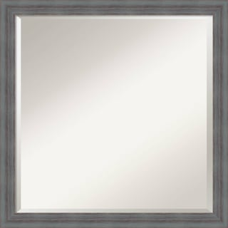 Wall Mirror Square, Dixie Grey Rustic 22 x 22-inch