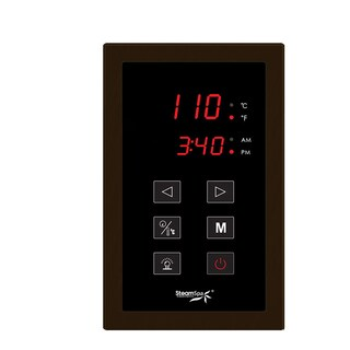 Touch Panel Control System in Oil Rubbed Bronze