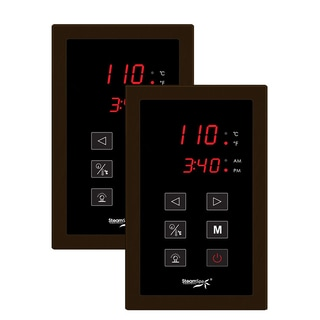Dual Touch Panel Control System in Oil Rubbed Bronze