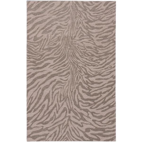 Ecarpetgallery Portico Beige Grey Animal Print Rug 5 X27