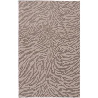 Ecarpetgallery Portico Beige Grey Animal Print Rug (5'0 x 8'0)