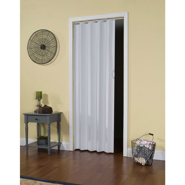 Contempra Sand White Folding Door - Free Shipping Today - Overstock ...