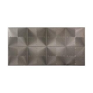 Fasade Echo Galvanized Steel 4-foot x 8-foot Wall Panel