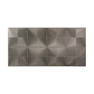 Fasade Echo Galvanized Steel 4-foot x 8-foot Wall Panel (2 options available)