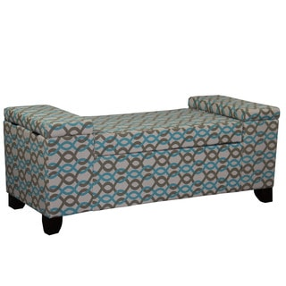 "18.25""H Gotcha Chain Link Storage Seating Bench"