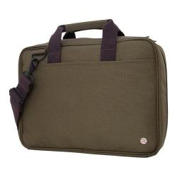 Token Franklin Khaki 15.4-inch Laptop Briefcase