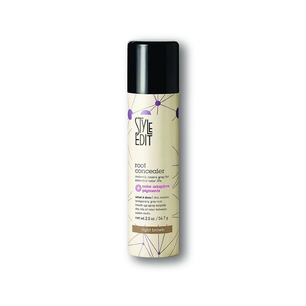 style edit hair color spray shop style edit conceal your grey hair color touch up root 8035 | Style Edit Conceal Your Grey Hair Color Touch Up Root Spray Lightest Brown Medium Blonde 05b5eec5 1c60 4057 b8e2 20b14d7a32ec 600