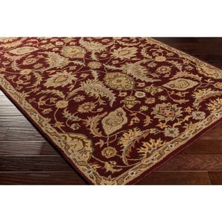 Hand-Tufted Early Floral Wool Rug (5' x 7'6)