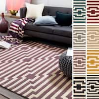 Hand-Tufted Holbeach Wool Rug - 8' x 11'