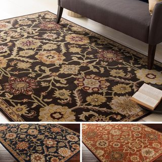 Hand-Tufted Dreux Floral Wool Rug (2' x 3')