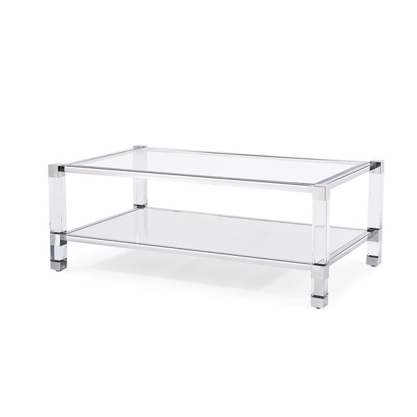 Santa Monica Coffee Table Silver Free Shipping Today