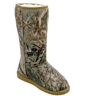 DAWGS Women's 13-inch Mossy Oak Boots