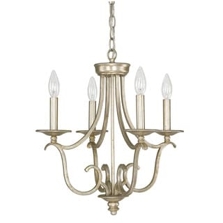 Capital Lighting Bailey Collection 4-light Winter Gold Mini Chandelier