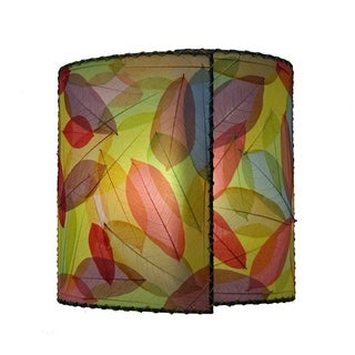 Handmade Eangee Wrapped Sconce (Philippines)
