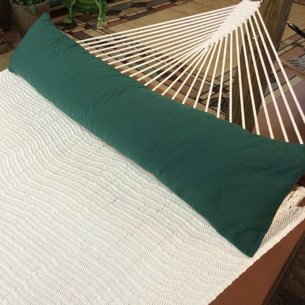 Shop 50 Inch Double Wide Hammock Pillow Free Shipping On