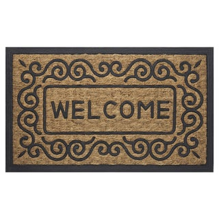 "Coco Scrolls Welcome Mat (18"" x 30"")"