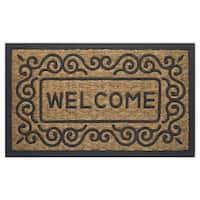 Achim Coco Scrolls Welcome Mat (18 x 30)