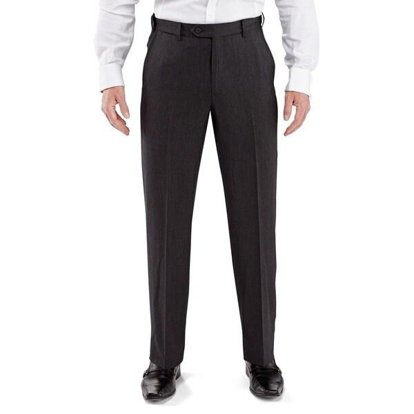 Men's Plain Front Dress Pants