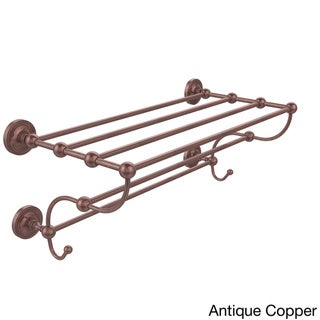 Prestige Regal Collection 36-inch Train Rack Towel Shelf (Antique Copper)