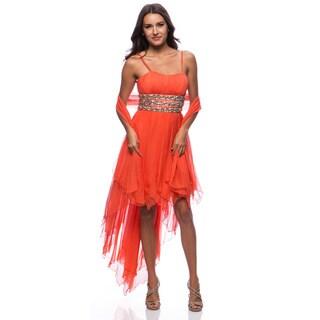 DFI Women's Multi-layered Beaded Dress