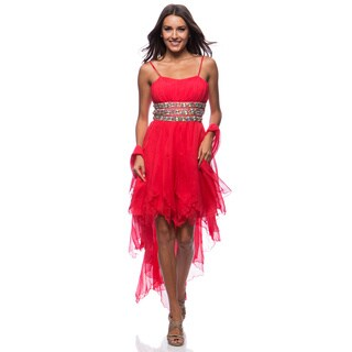 DFI Women's Multi-layered Beaded Dress (More options available)