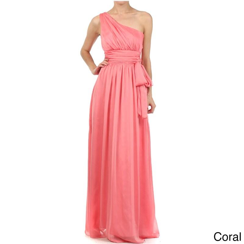 Vestido de Noche DFI para Mujer Cinturón de lazo   eBay