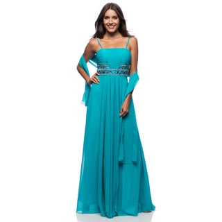 DFI Women's Evening Gown Empire Waist