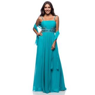 DFI Women's Evening Gown Empire Waist