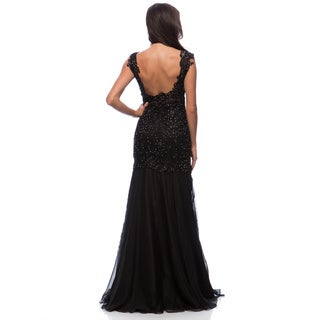 DFI Women's Gown with Waise Cut-Outs