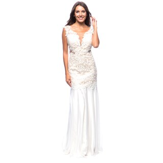 DFI Women's Gown with Waist Cut-Outs