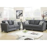 Furniture of America Vellaire Contemporary 3-piece Sofa Set