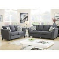 Furniture of America Vellaire Contemporary 2-piece Sofa Set