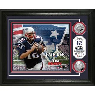 Tom Brady Silver Coin Photo Mint