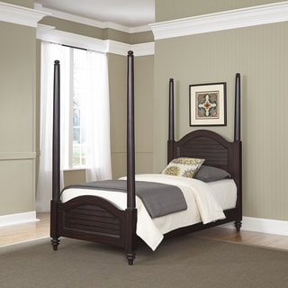 Bermuda Twin Poster Bed by Home Styles