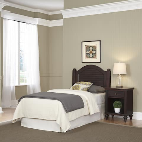 Bermuda Twin Headboard and Night Stand by Home Styles