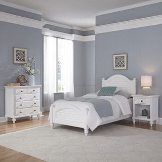 Home Styles Bermuda Twin Bed, Night Stand, and Chest