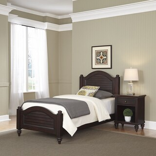 Home Styles Bermuda Twin Bed and Night Stand