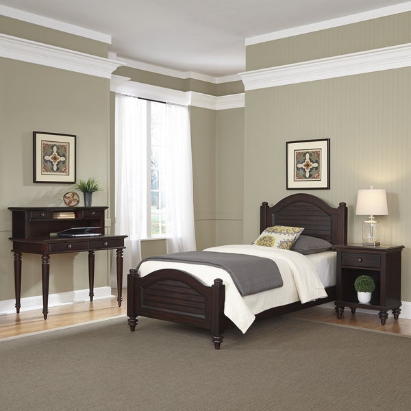 Bermuda Two Twin Beds And Night Stand By Home Styles
